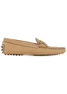 Tod's 10mm Suede Chain Loafers