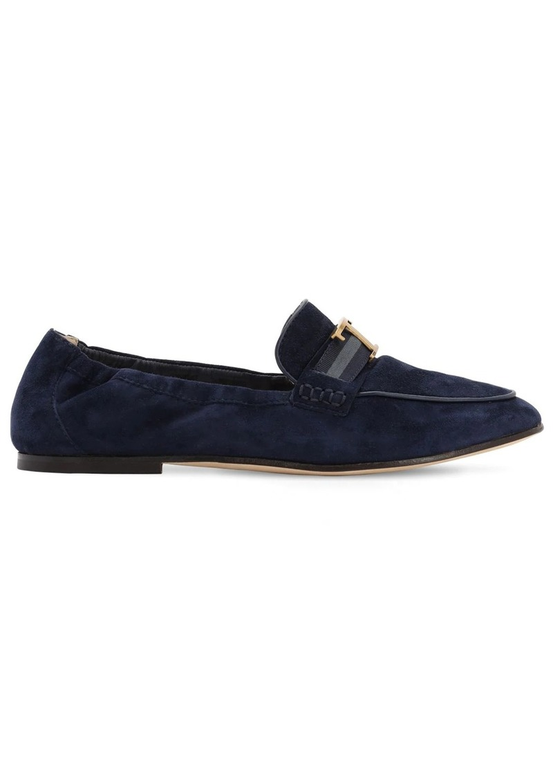 Tod's 10mm Suede Loafers