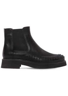 Tod's 35mm Beatles Leather Ankle Boots