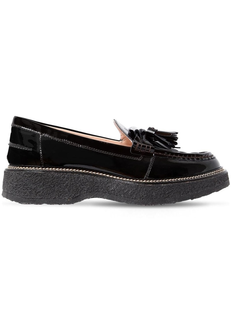 f189fb4b27e Tod s 35mm Tasseled Patent Leather Loafers