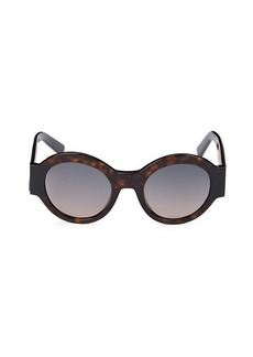 Tod's 51MM Round Sunglasses