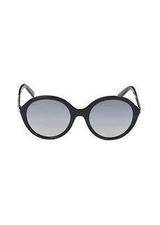 Tod's 55MM Round Sunglasses