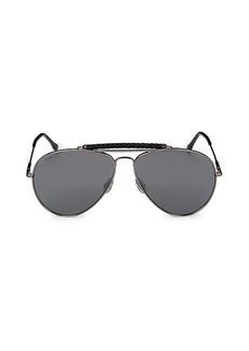 Tod's 60MM Aviator Sunglasses