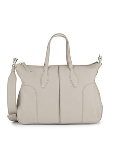 Tod's Bauletto Piccolo Leather Crossbody Bag