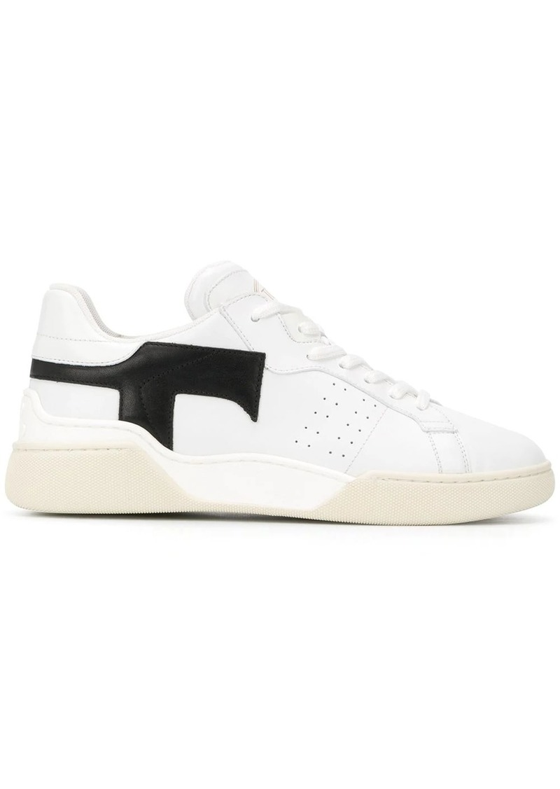 Tod's black T trainers