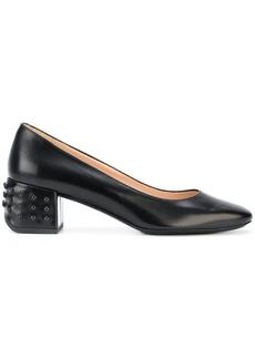 Tod's block heel pumps