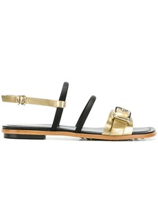 Tod's buckle-detailed multi-strap sandals