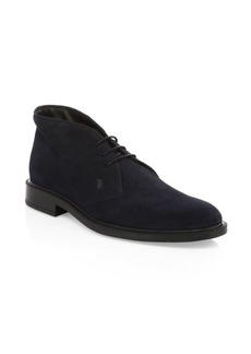 Tod's Chukka Suede Boots
