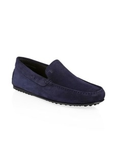 Tod's City Gommini Suede Drivers