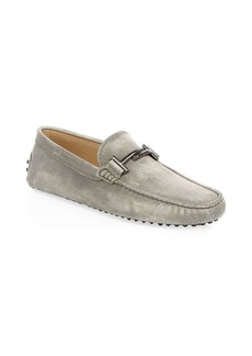 Tod's City Gommino Leather Bit Loafers