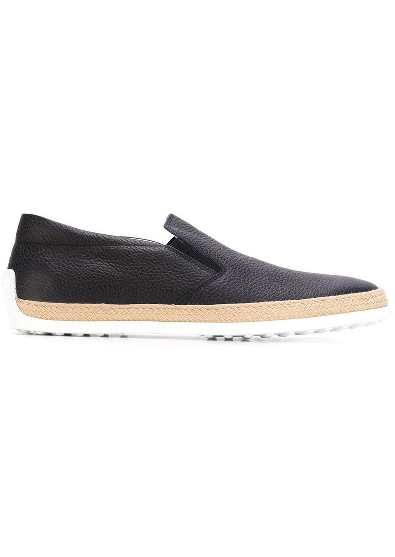 Tod's classic slip on sneakers