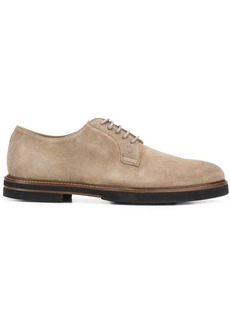 Tod's classic suede derby shoes