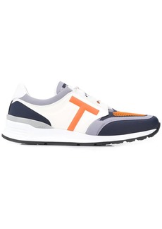Tod's colour block low-top trainers