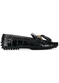 Tod's crocodile loafers