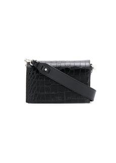 Tod's crossbody croc effect mini bag