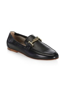 Tod's Cuoio Legg Leather Loafers