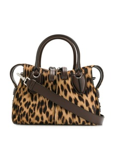 Tod's D-Styling leopard print micro tote