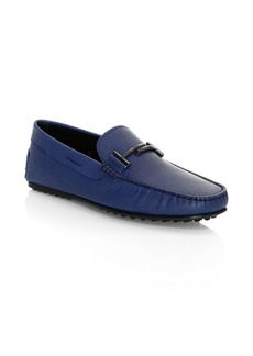 Tod's Double T City Leather Loafers