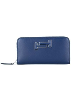 Tod's Double-T leather wallet