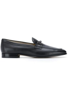 Tod's double T logo loafers