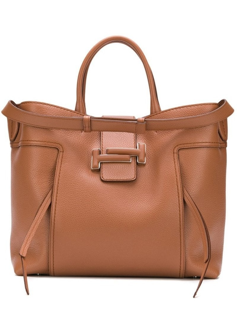 4c57575233a Tod's double T tote bag