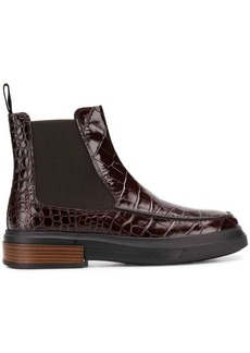 Tod's embossed ankle boots