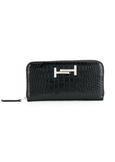 Tod's embossed Double T wallet