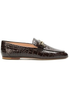 Tod's embossed vernished patterned loafers
