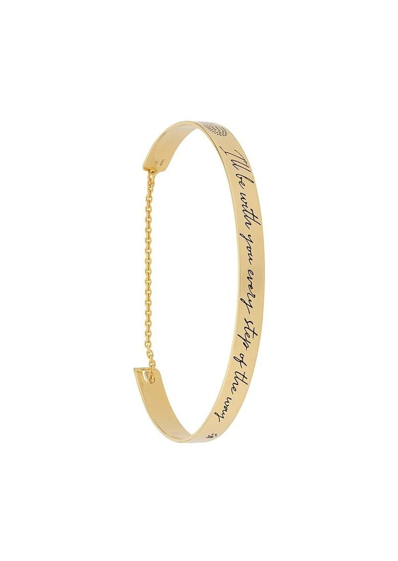 Tod's engraved bracelet