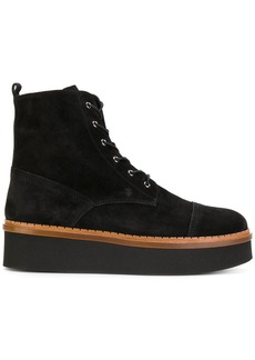 Tod's flatform lace-up ankle boots