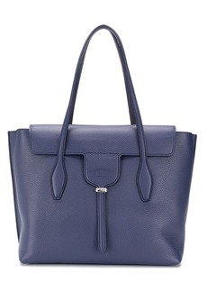 Tod's foldover detail tote