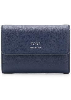 Tod's foldover top wallet