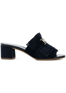 Tod's frilled sandals