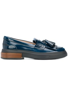 Tod's fringed mocassin loafers