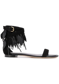 Tod's fringed open-toe sandals