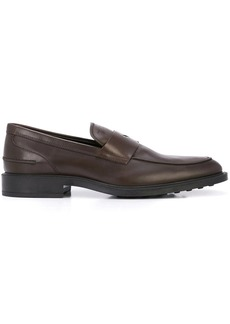 Tod's front panel loafers
