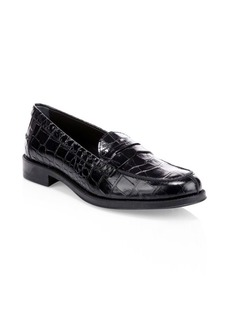 Tod's Gomma Leather Slip-On Loafers