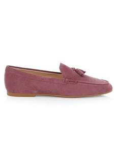 Tod's Gomma Suede Moccasins