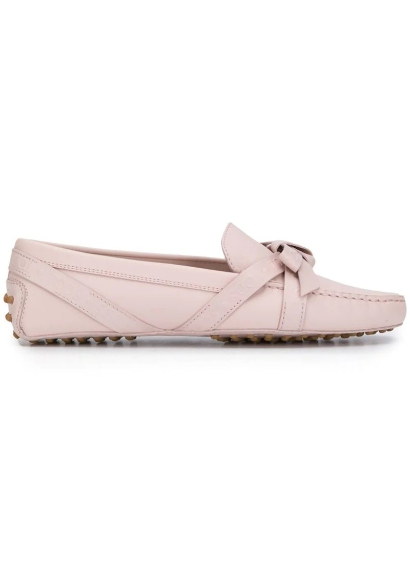Tod's Gommini bow loafers