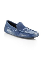 Tod's Gommini Denim Loafers