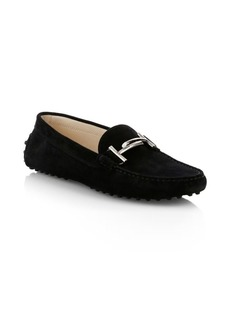 Tod's Gommini Doppia Suede Loafers