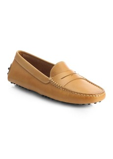 Tod's Gommini Leather Drivers Loafer