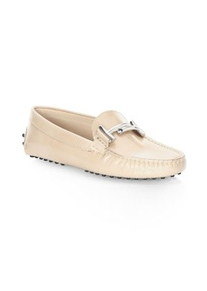 Tod's Gommini Leather Moccasins