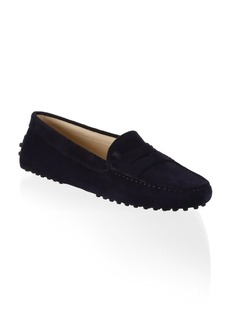 Gommini Suede Driver Loafers
