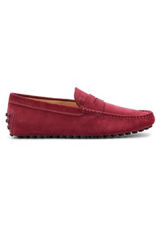 Tod's Gommini Suede Penny Driving Loafers