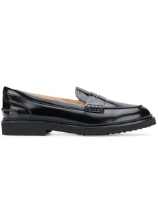 Tod's slip-on leather loafers