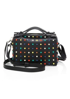 Tod's Micro Gommino Studded Leather Box Bag