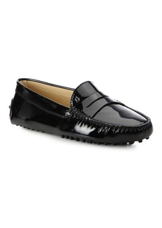 Tod's Gommino Patent Leather Driving Loafers