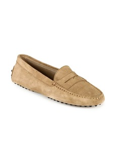 Tod's Gommino Suede Driving Loafers