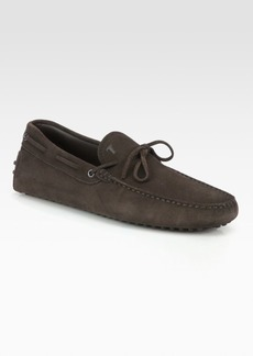 Tod's Gommino Suede Moccasins
